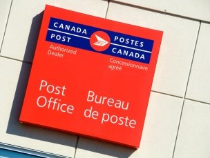 Millbrook, Canada Post Office logo
